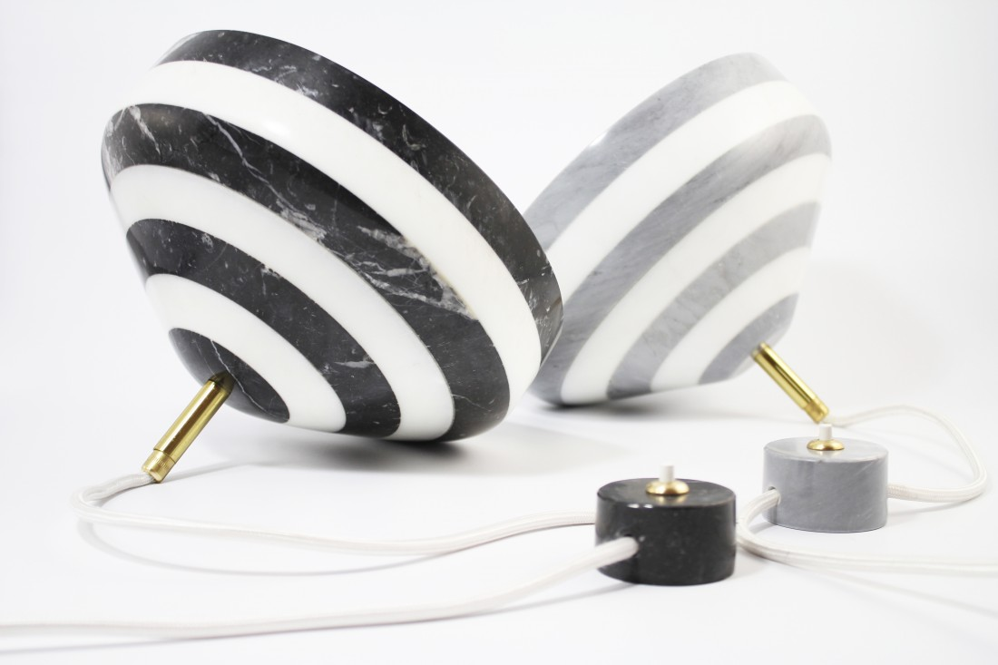 PIROUETTE MARBLE LAMP