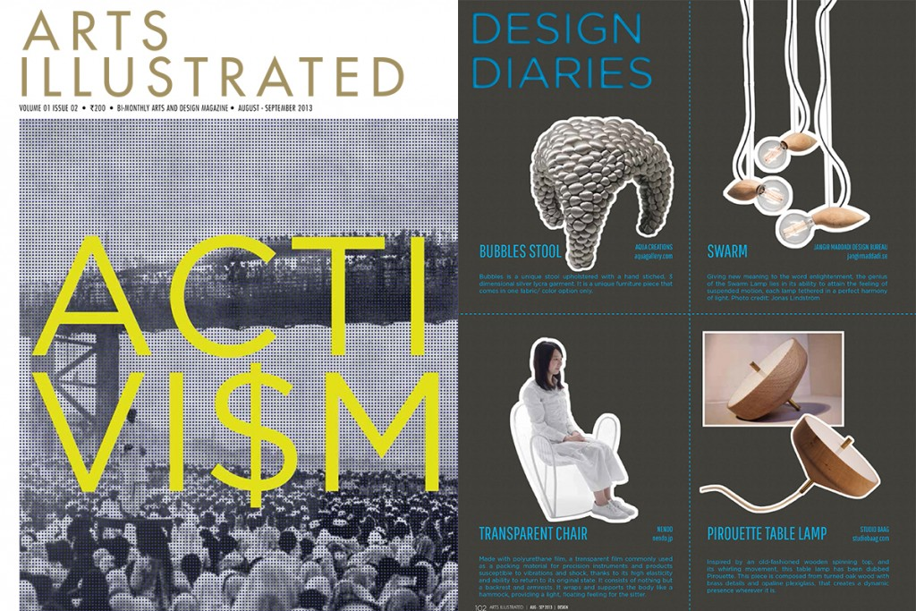 arts illustrated_cover_india