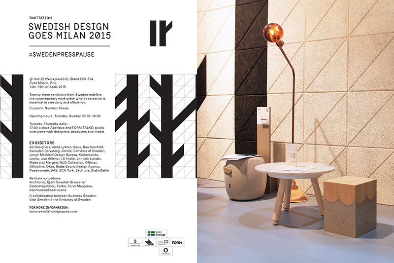swedish design goes milan 2015